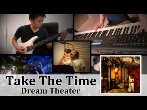 Dream Theater - Take The Time | Split-Screen Cover | International Collaboration