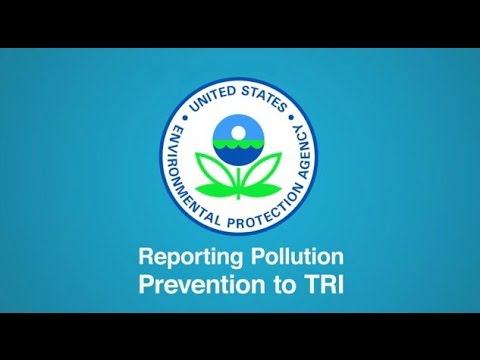 Reporting Pollution Prevention to TRI