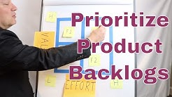 Prioritize Product Backlogs in Three Easy Steps