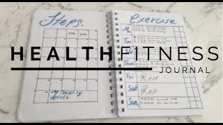 BULLET JOURNAL: HEALTH & FITNESS // How to Track & stay accountable