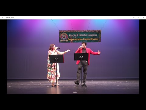 """Sandeep Kurapati and Sumangaly sing Poolane Kunukeyyamanta from """"I"""""""