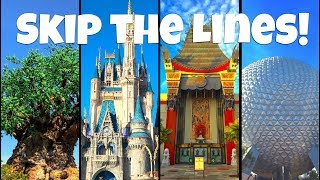 Top 10 Tips and Tricks to Skip the Lines At Walt Disney World!