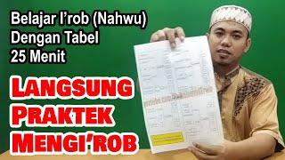 Belajar I'rob (Nahwu) dengan Tabel Langsung Praktek Mengi'rob screenshot 2