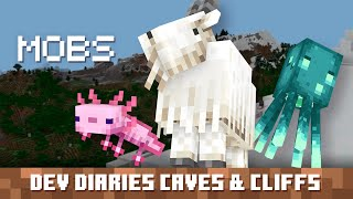 Dev Diaries: Caves & Cliffs Mobs