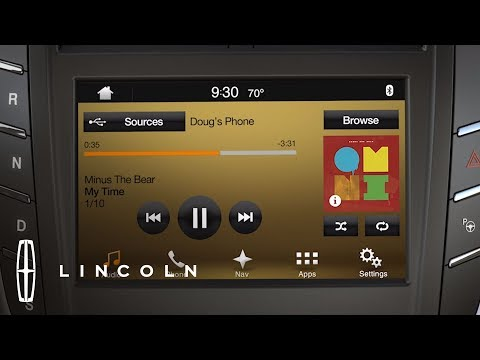 SYNC® 3 Entertainment Overview | How-To | Lincoln