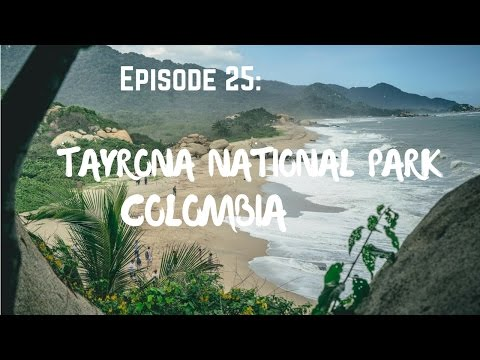 Camping in Tayrona National Park, Colombia