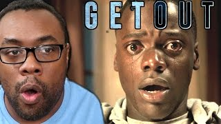 "GET OUT Movie Review (NO SPOILERS) and ""Uncut"" Reaction #GetOut"