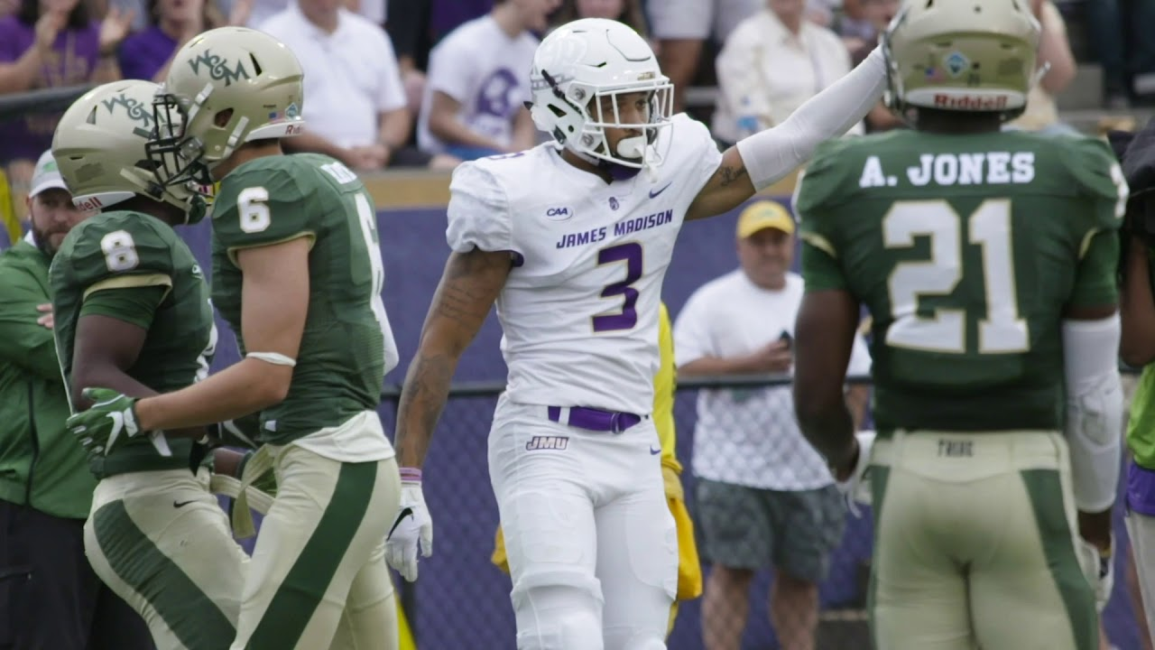 3a7f66ae8 Cinematic Highlight I JMU Football vs. William   Mary - YouTube