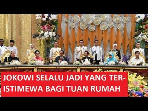 Jokowi jadi buruan foto selfie di brunai