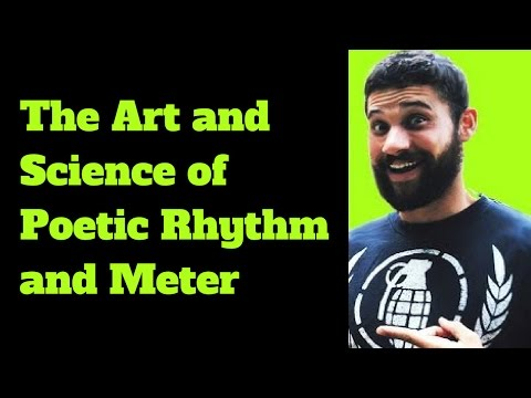 The Art and Science of Poetic Rhythm and Meter