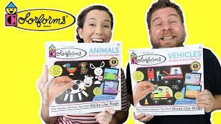 Colorforms Animals & Vehicles Play Sets
