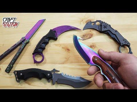 Ножи из CS:GO и не только...