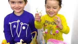 В мире Животных вместе с Динарой и Магомед  Смешное и Познавательное Видео для Детей