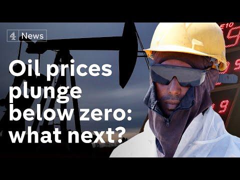 Oil prices collapse below zero in coronavirus crisis - what happens now?
