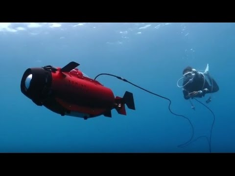 Thunder Tiger TTRobotix Seawolf - Deepsea Challenger Featured in 2015 DEMA Show