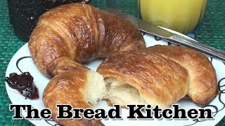 Delicious Home-made Croissants Recipe In The Bread Kitchen