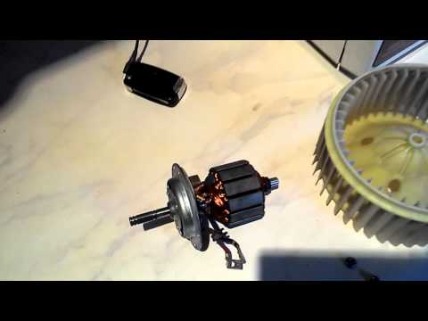 Geely emgrand разобранный вентилятор печки