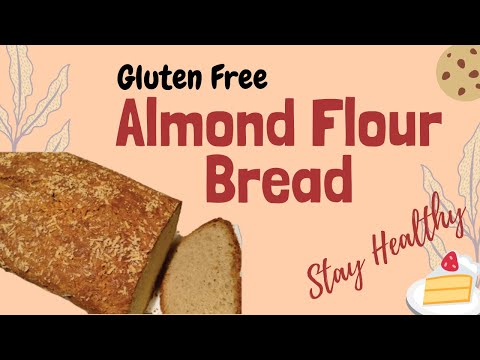 Simplest Homemade Gluten Free/SCD Almond Flour Bread