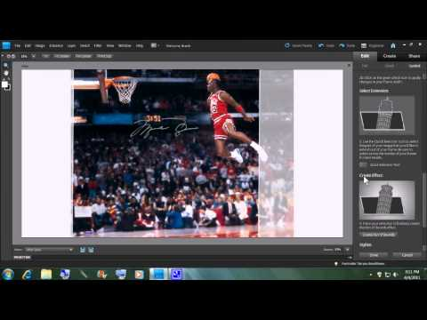 Photoshop Elements  9   Out Of Bounds