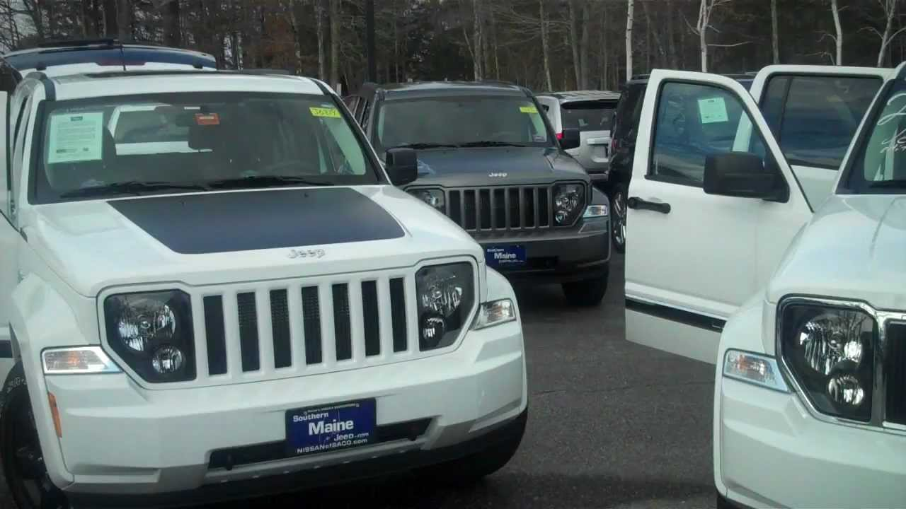 Best maine jeep dealers 2012 jeep liberty arctic vs jet for Southern maine motors saco maine