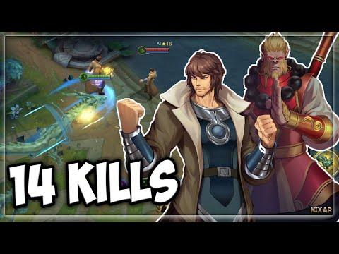 Heroes Evolved X Rakshasa Street - Beiluo Shimen Build | Ranked Gameplay | New Hero