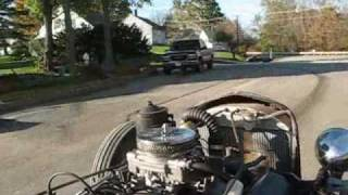Finally a rat rod ride video with good sound.
