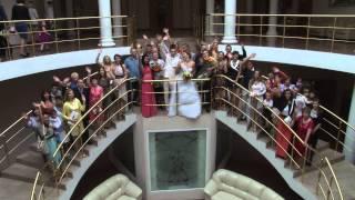 Оранжевая свадьба Михаила и Алины