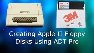 Apple II için Disket Oluşturma