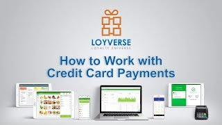 You can use any credit card processing system with loyverse pos, without integration between them. pos register payments made through the p...