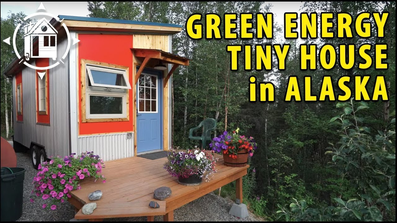 Alaska Tiny House with Green Design for Sustainability College Professor