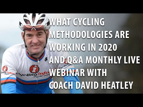 What Cycling Methodologies are Working in 2020 and Q&A - Cycling-Inform Monthly Webinar - Feb 2020