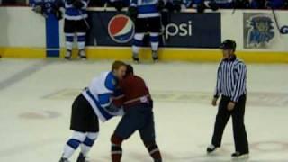 Wenatchee Wild vs Fairbanks Icedogs fight season