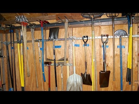 Garden Tool Maintenance Video: Daily Maintenance of Long Handled Tools :