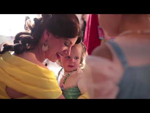 Children's Wish Foundation Princess and Superhero Party