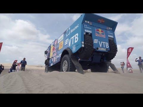КАМАЗ-мастер на ралли «Дакар 2019» — 7-е января — Битва титанов начинается
