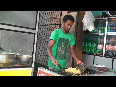 Sri Lanka 2015 part 11 - Blapitiya and Kothu Rotti Food