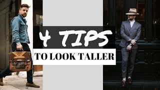 How to Look Taller | 4 Tips to Look Taller | How to Dress to Look Taller