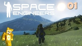 Let's Play Space Engineers with Planets - Ep01 - Landfall