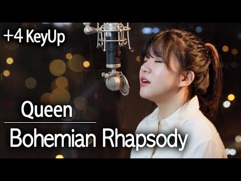(+4 Key Up) Bohemian Rhapsody -  Queen Cover | Bubble Dia