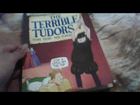 My top 3 favourite books part 1 Horrible Histories, Terrible Tudors