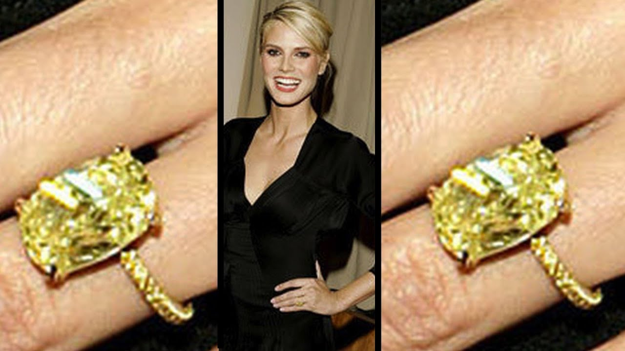 how to get a ring like heidi klums diamond rings youtube