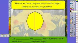 Lines of Symmetry using Promethean Tools Thumbnail
