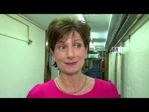 EU referendum  Behind the scenes with Dimbleby at BBC studio   BBC News