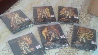 Unboxing Bluray Saint Seiya Soul of Gold