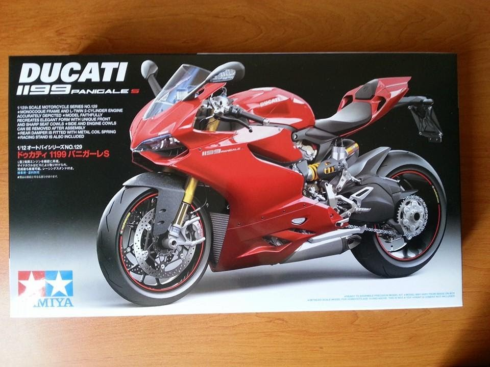 Tamiya Ducati 1199 Panigale S 1/12 [unboxing] - YouTube