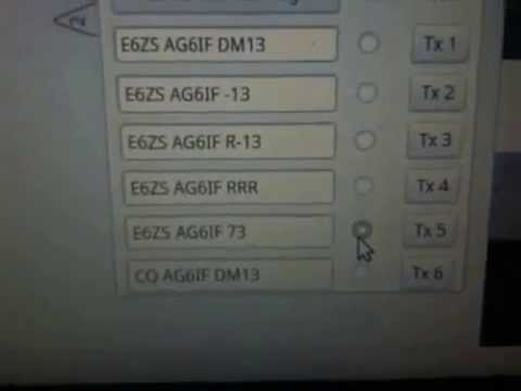 Rare DX Niue with E6ZS JT65