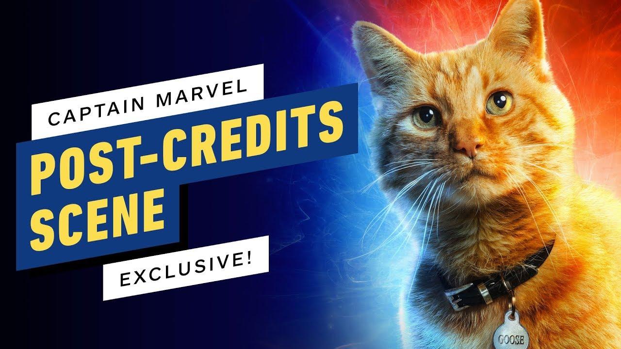 Captain Marvel: Exklusive Nachspannszene + video