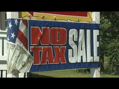 State lawmakers debating return of sales tax holiday weekend