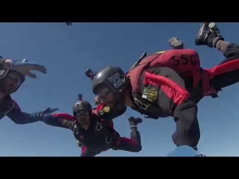 First Person View of Skydiving by SSG | Pakistan Day Parade | 23 March 2018 l Full HD