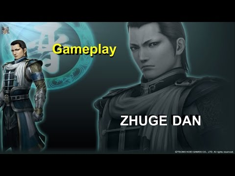 Dynasty Warriors 8 XL - PS4 - Zhuge Dan Gameplay (Ultimate Difficulty)